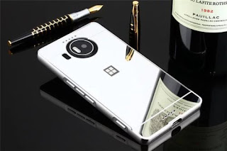 Luxury Metal Aluminum Frame Bumper + Mirror Cover Case For Nokia Microsoft Lumia