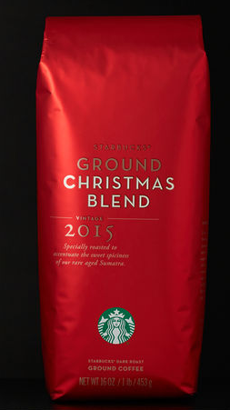 last chance starbucks christmas blend 1 pound bags only 489 regularly 1495 bogo free holiday blend k cup packs