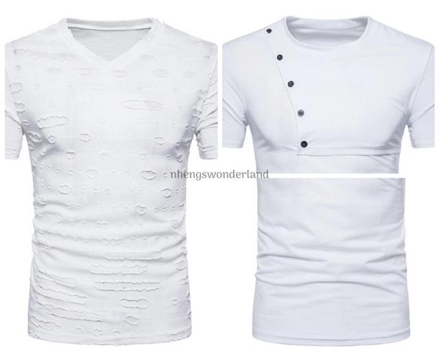 White Tshirts - Dresslily