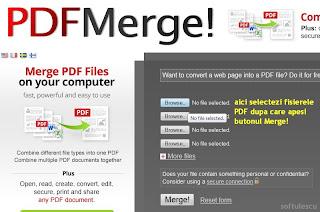 Lipește PDF online cu pdfmerge.com