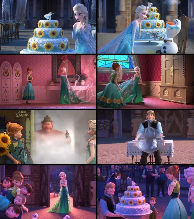 Frozen Fever 2015 Dual Audio Hindi BRRip 1080p