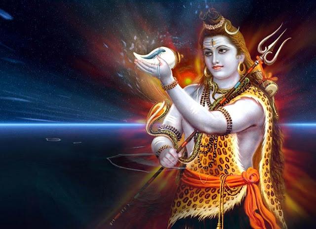 Lord Shiva Vishpaan Wallpaper