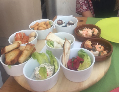 Photo of a plate with Canarian Tapas
