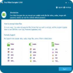 تحميل Any Video Encryptor مجانا تشفير جميع انواع الملفات بسهولة مع كود التفعيل free key