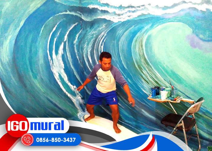 Mural Dinding 3D