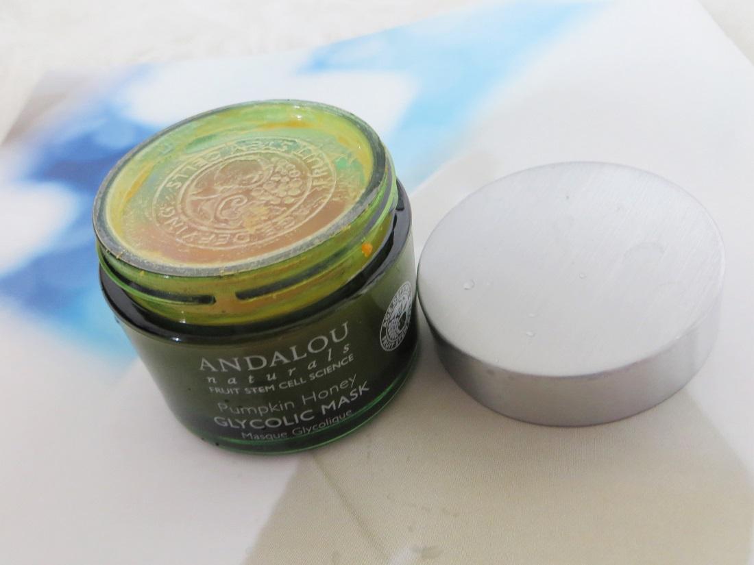 Review: Andalou Naturals, Glycolic Mask, Pumpkin and Honey