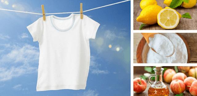 remedios para recuperar el blanco de la ropa