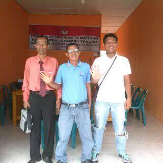 Pengacara dan Konsultan Hukum Calon Bupati - Wakil Bupati Tapanuli Tengah 2017 pada Sengketa Pilkada di Panwaslih Tapteng