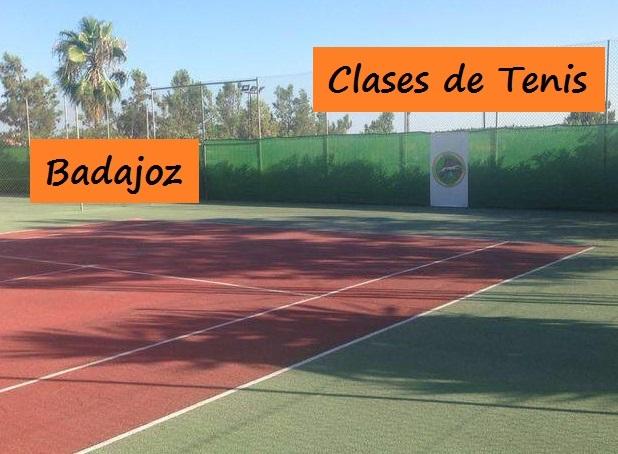 Clases de tenis en badajoz p del badajoz for Cursos de cocina en badajoz