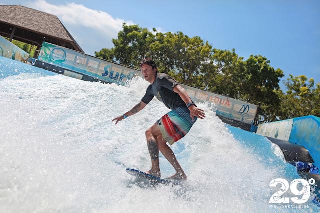 Surf & Turf - Beach club och vattenland i ett