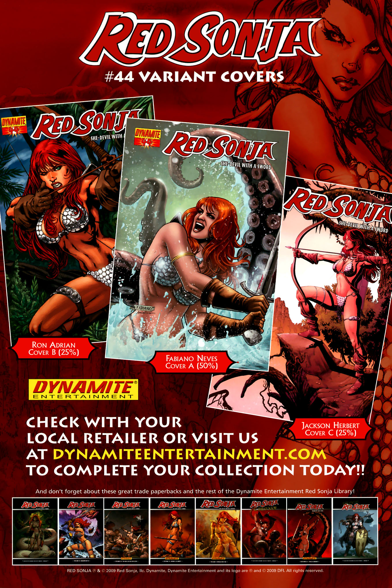 Read online Red Sonja (2005) comic -  Issue #44 - 36
