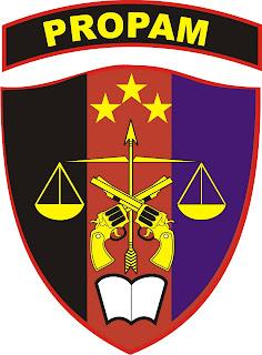 Logo Propam Png : propam, Profesi, Pengamanan, Propam, Polri, Kumpulan, Lambang, Indonesia