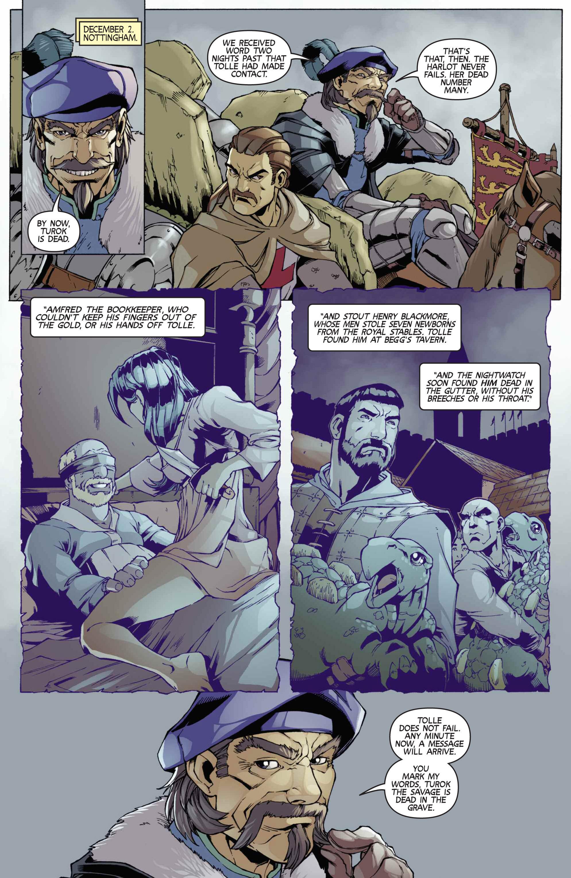Read online Turok: Dinosaur Hunter (2014) comic -  Issue # _TPB 3 - 71