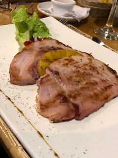 Ham and Pineapple Appetizer from Il Giardino