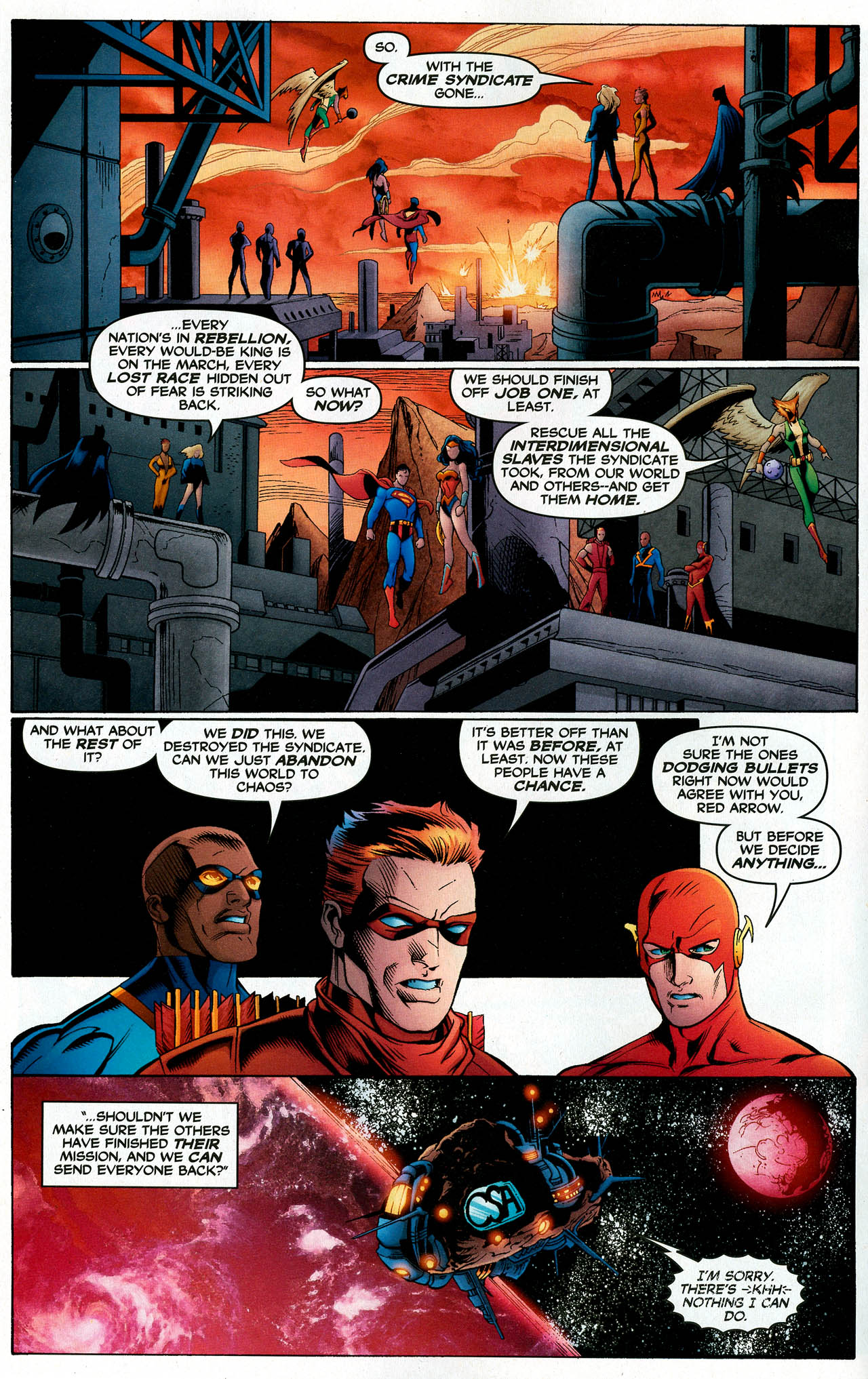 Read online Trinity (2008) comic -  Issue #14 - 5