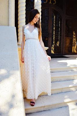 kate bartlett white prom dress