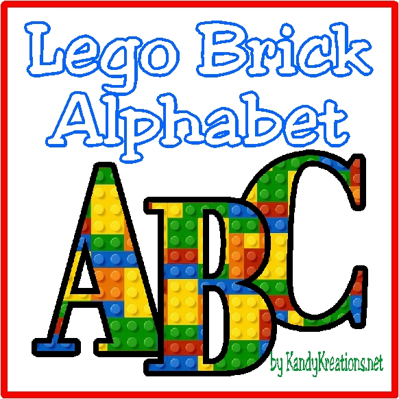 Cover Letter For Lego: Lego Brick Alphabet