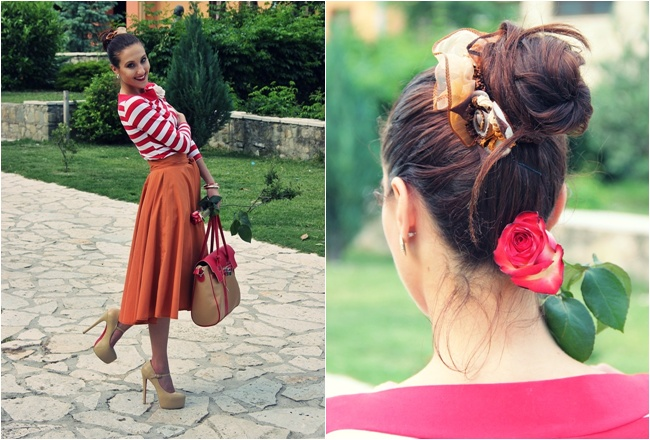 chic and romantic bun hairstyles