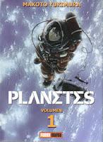 """Portada del cómic """"Planetes"""", de Makoto Yukimura"""