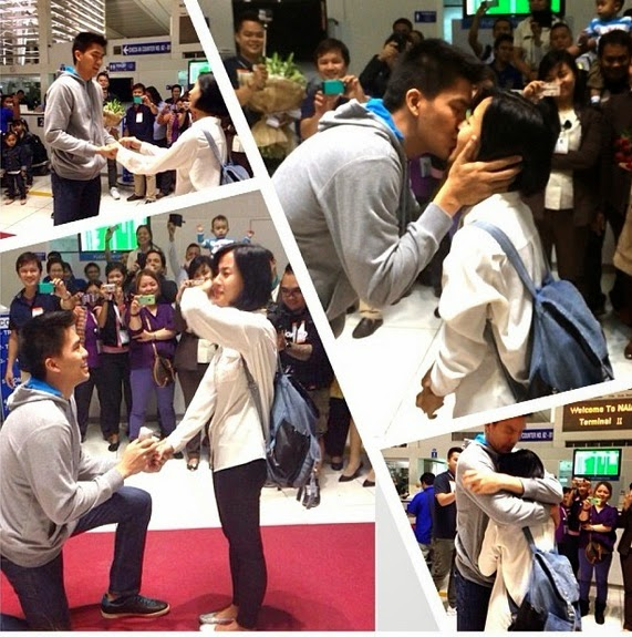 Bianca Gonzalez now engaged to JC Intal after airport proposal