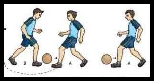 Menggiring bola dengan berpasang-pasangan