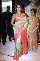 Shriya Saran Looks Stunning in Silk Saree at VRK Silk Showroom Launch Secundrabad ~  Exclusive 102.JPG