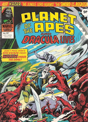 Marvel UK, Planet of the Apes #97