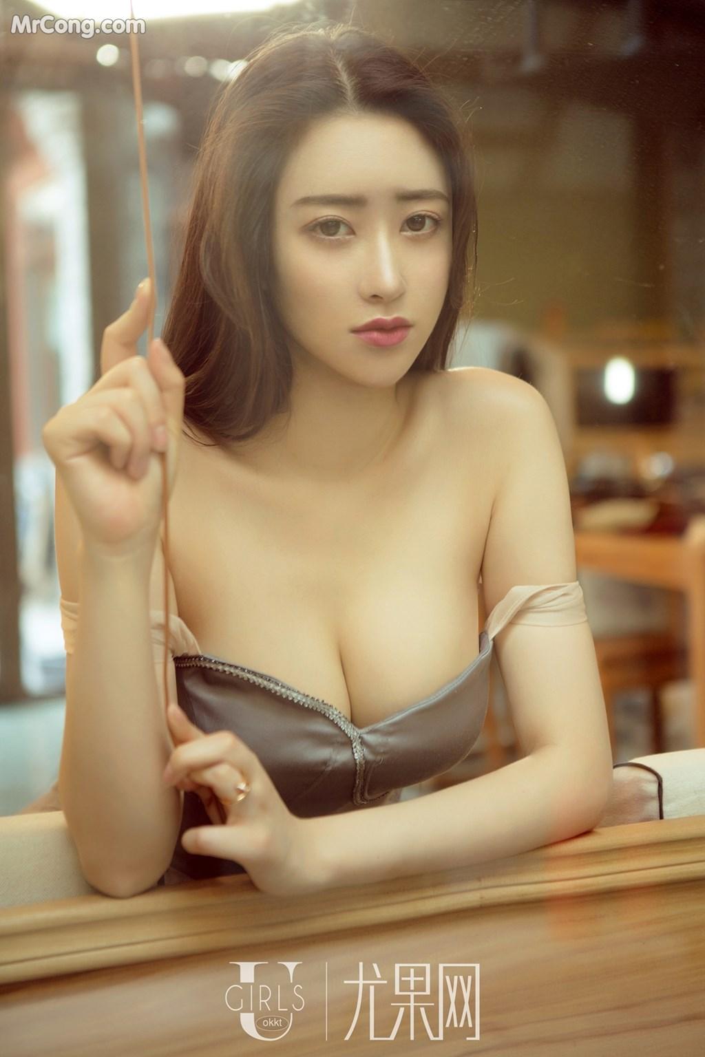 Image UGIRLS-U309-Mu-Fei-Fei-MrCong.com-014 in post UGIRLS U309: Người mẫu Mu Fei Fei (穆菲菲) (64 ảnh)