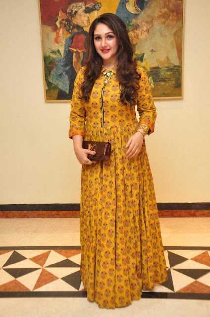 Sridevi Vijay Kumar in Maxi Dress