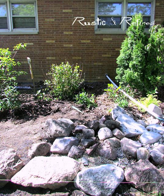River creek bed ideas