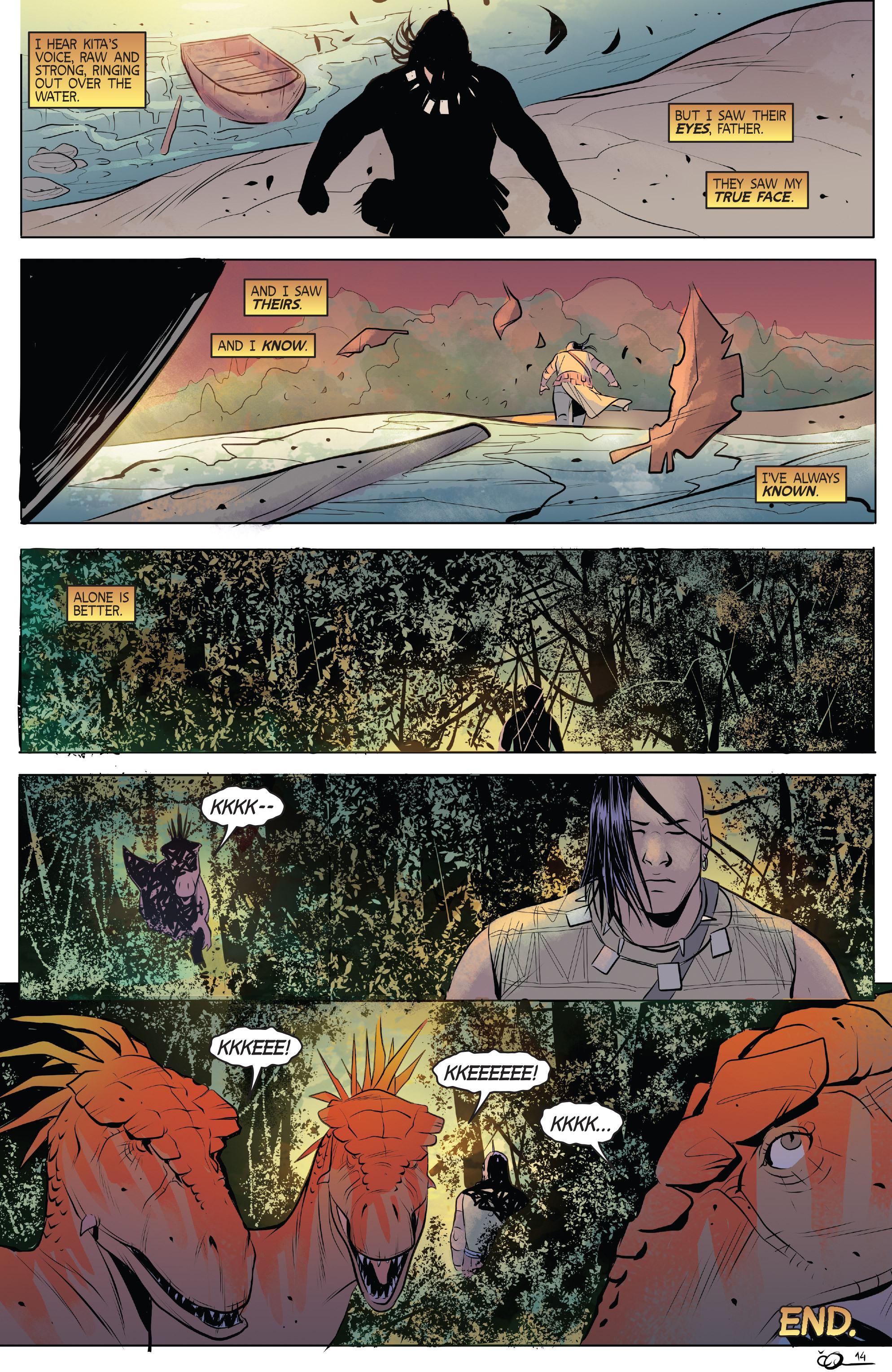 Read online Turok: Dinosaur Hunter (2014) comic -  Issue # _TPB 1 - 95
