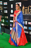 Priya Shree in Beautiful Blue Saree at IIFA Utsavam Awards 2017  Day 2    HD Exclusive Pics 26.JPG
