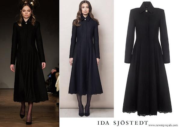 Princess Sofia wore Ida Sjöstedt Antonia coat