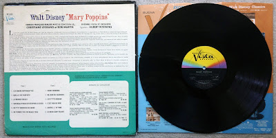 Mary Poppins En Francais Vinyl Record