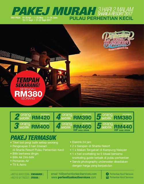 Pakej Pulau Perhentian 2017 , pakej perhentian kecil 2018 , perhentian 2017