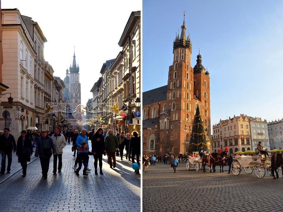 Kraków w świątecznym klimacie
