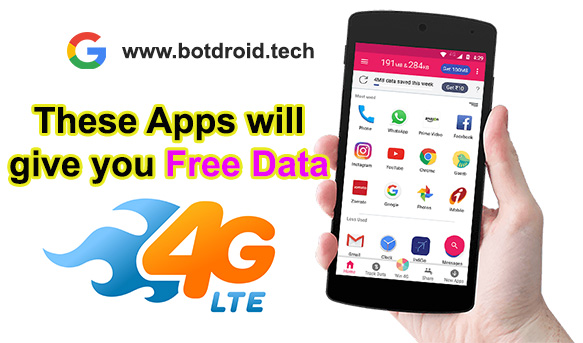 These Apps Will Give you free INTERNET Data! - Botdroid
