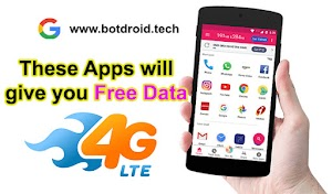 These Apps Will Give you free INTERNET Data!