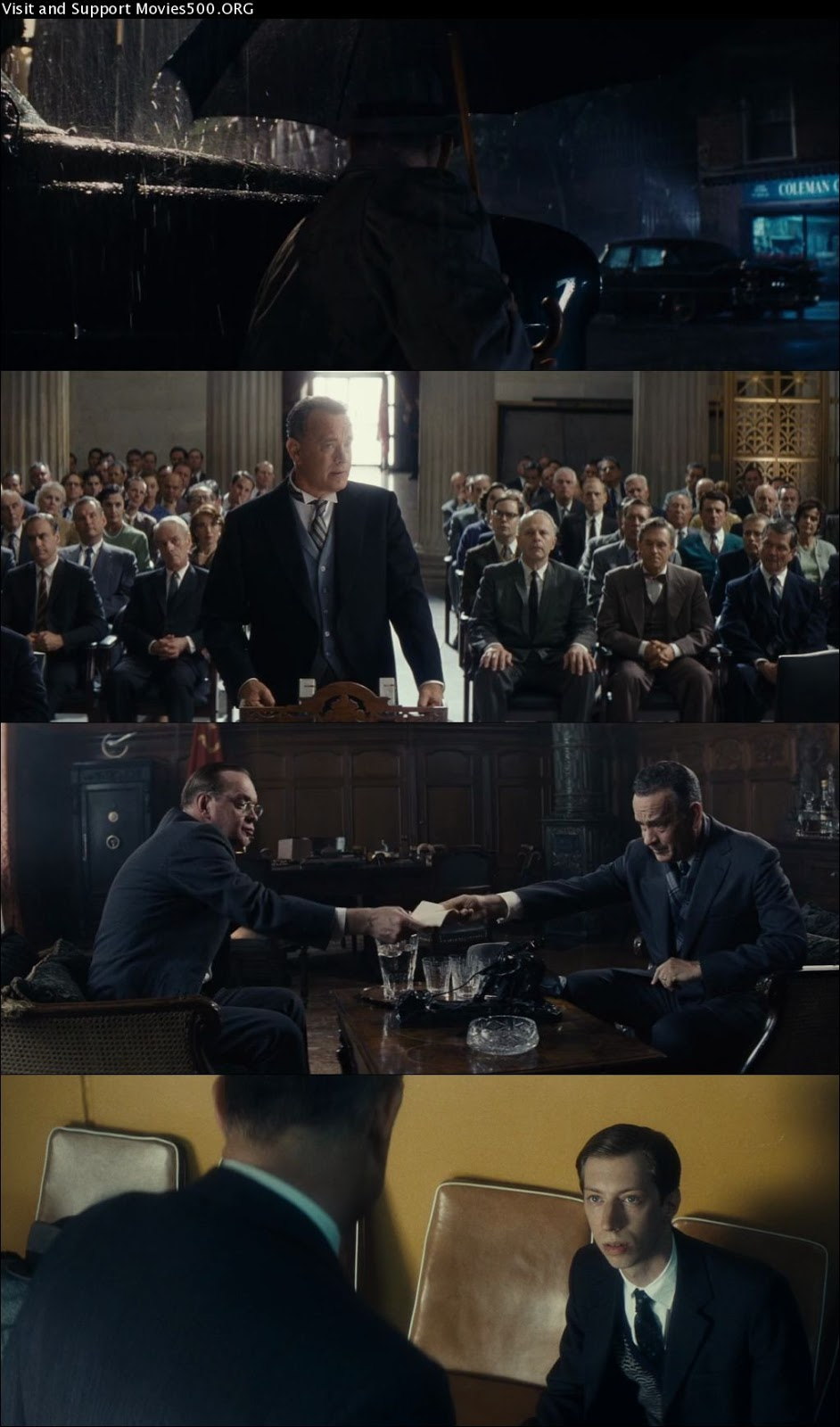 Bridge of Spies 2015 Hollywood 300MB Movie Download 480P 392MB at movies500.site