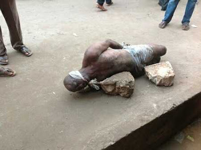 Pastor Killed After Vigil, Tied Up and Thrown into Gutter in Nnewi