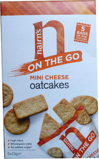 Nairn's on the go mini cheese oatcakes