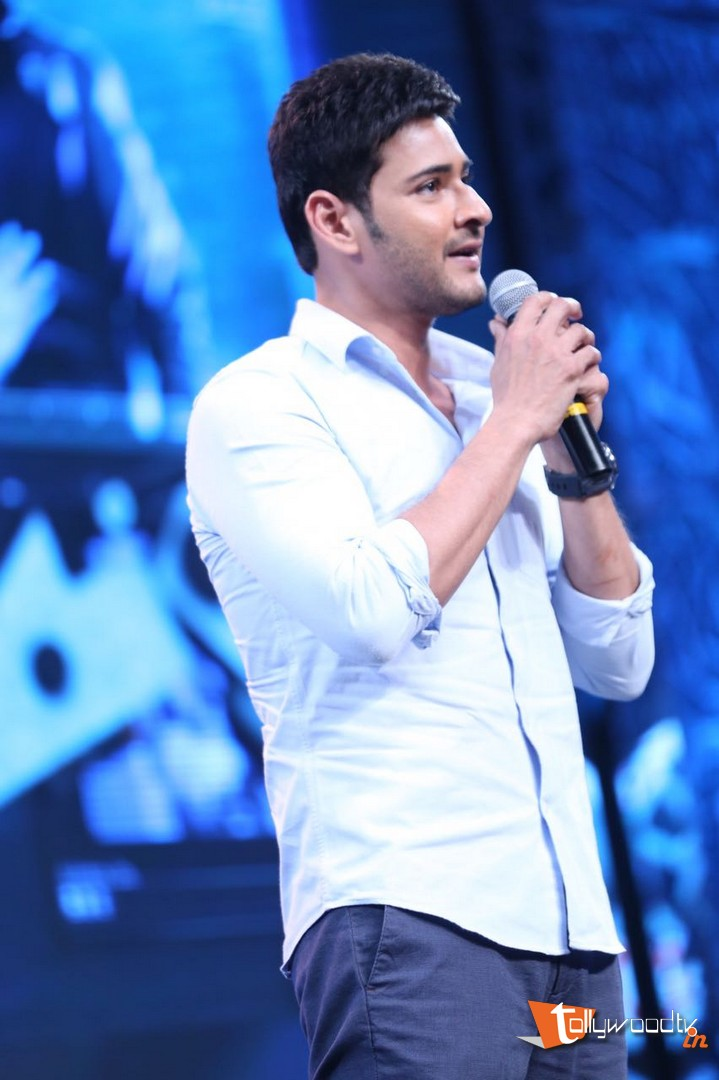 Mahesh Babu At Spyder Audio Launch-HQ-Photo-13