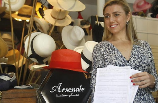 Alicia Simon - The owner of 'Arsenale' shop in Spain