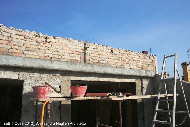 intonaco a calce lime mortar