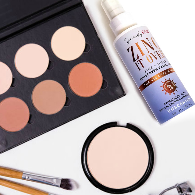 Tips To Reapply SPF Over Your Makeup With Seriously Fab Zinc It Over Facial Suncreen Mist By Barbies Beauty Bits