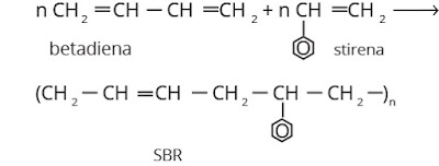 rumus struktur SBR (Styrena Butadiena Rubber)