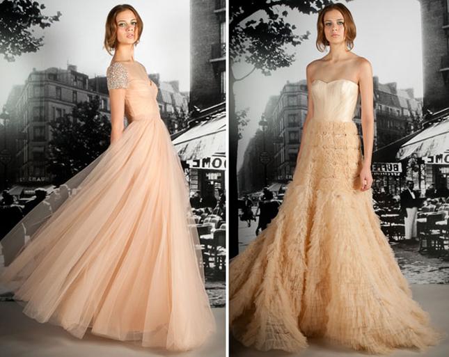 Wedding Trends Blush Wedding Dresses Belle The Magazine