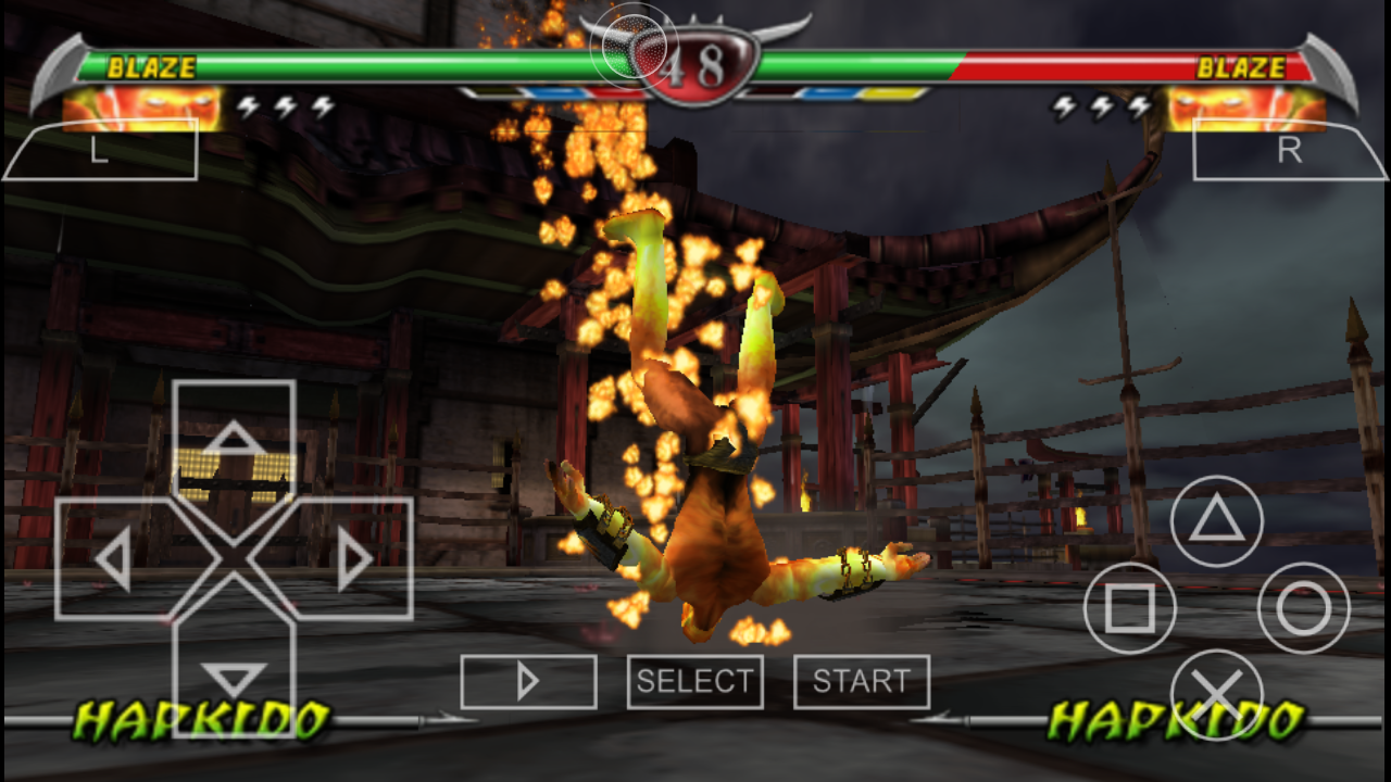 How To Play Mortal Kombat - Unchained (USA) PSP Game On Android