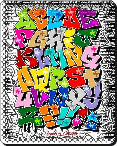 graffiti alphabet zeichnen von graffiti buchstaben abc. Black Bedroom Furniture Sets. Home Design Ideas