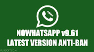 Download NOWhatsApp v9.61 Latest Version Android ANTI-BAN